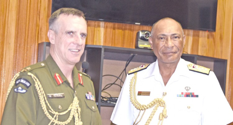 NZ Defence Force,  RFMF Work Together