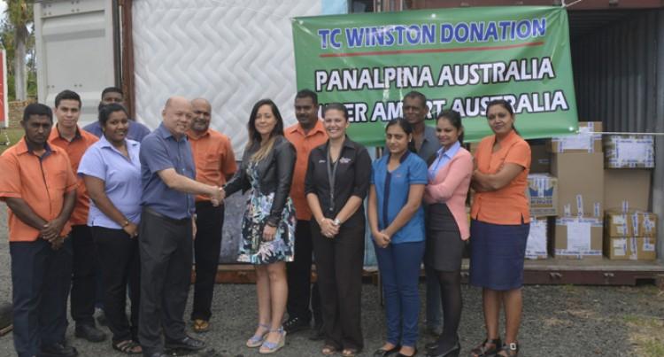 Cyclone Donations Keep Coming