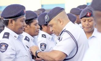 Senior Police Officers Receive Medals