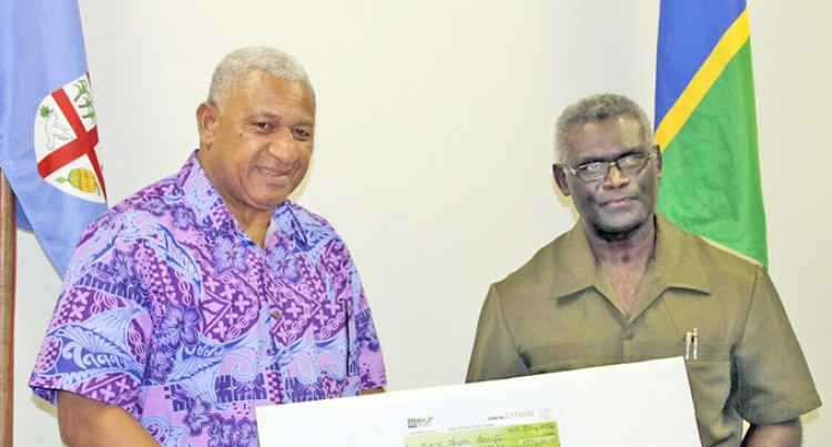 Fijians In Honiara Top Up PM's  Winston Appeal