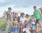 Indonesian Defence Force Spend Leisure Time With Locals