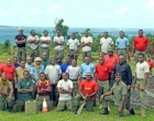 Soldiers Refurbish Bilo Gun Site