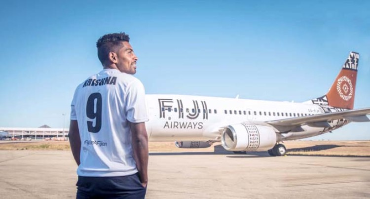 Roy Krishna Is Fiji Airways Brand Ambassador