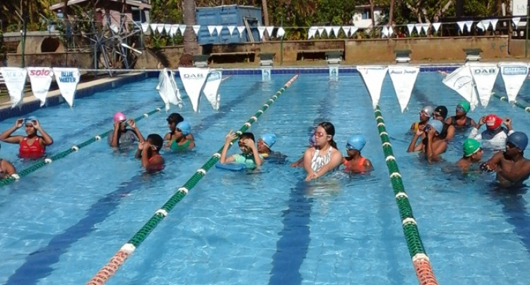 School Swims For Safety
