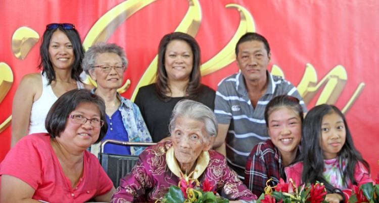 Family  Celebrates Centenarian