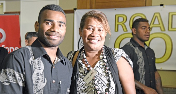 Proud Moment For Tuwai's Mum