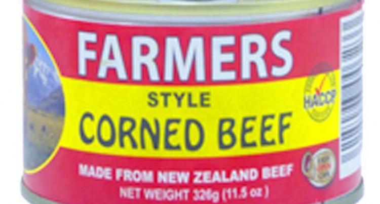 Fijian Corned Beef Faces Temporary Ban In Samoa