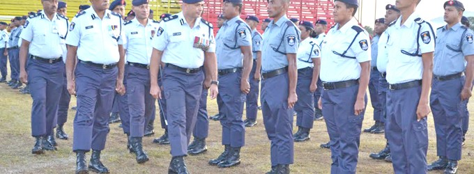 Qiliho Reiterates Standards To Officers; Appreciates Service, Hardwork