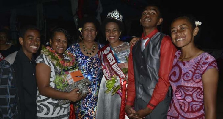 Bula Queen Grace Makes Mum Proud