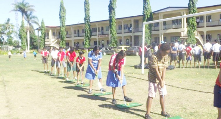 Fiji International Goes Back To School