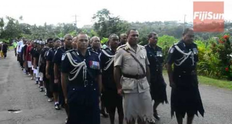 Funeral Procession Of Late Jone Veitaqomaki