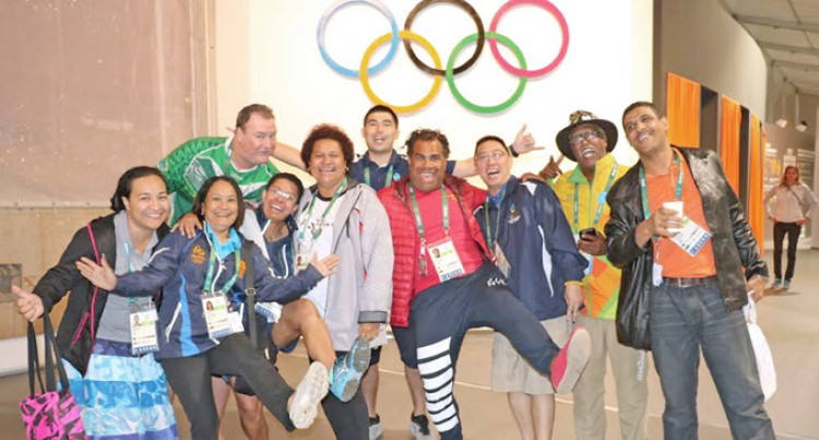 Oceania Athletes Test Games Facilities