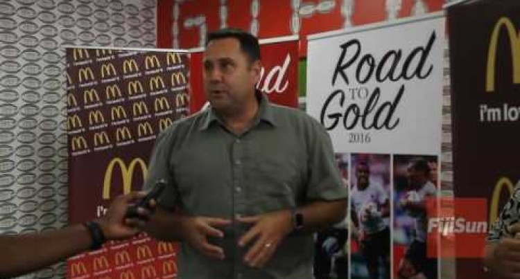 McDonald's Presented A Cheque Of $25,000 To The Road To Gold Fundraising Committee