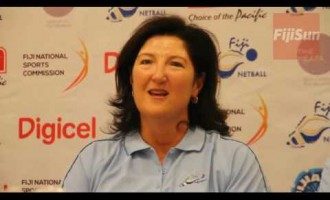 Newly appointed Fiji Pearls Head Coach, Vicki Wilson