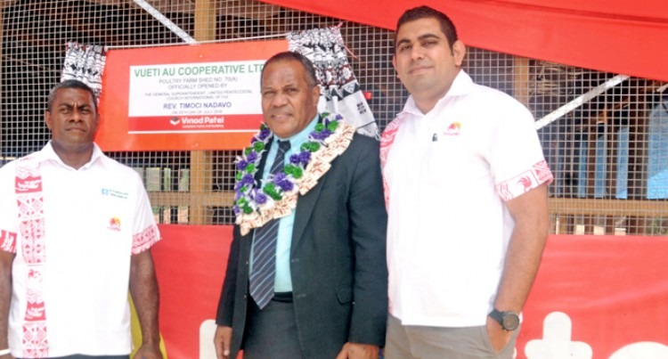 Ba Business Opens New Poultry Shed