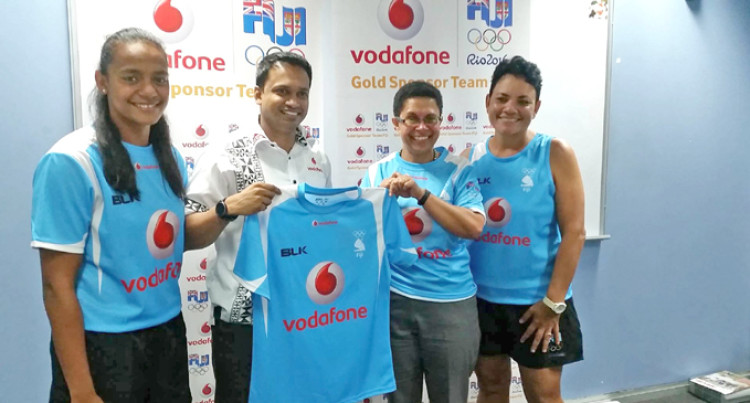 Vodafone Gives More To Team Fiji