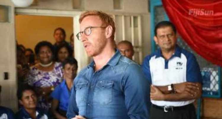 Vodafone Fijian 7s Team Head Coach, Ben Ryan