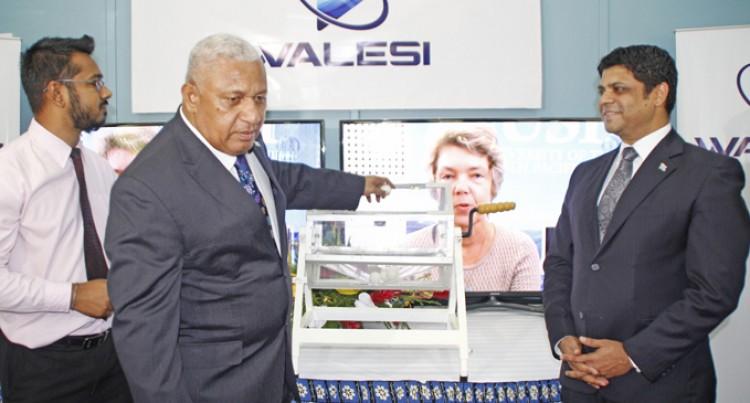 Digital TV Here For All  Fijians, Says Prime Minister