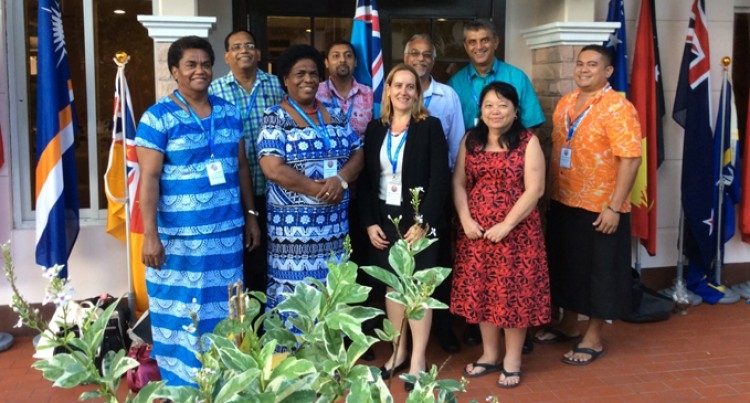 Region's Commissioners Meet In Palau