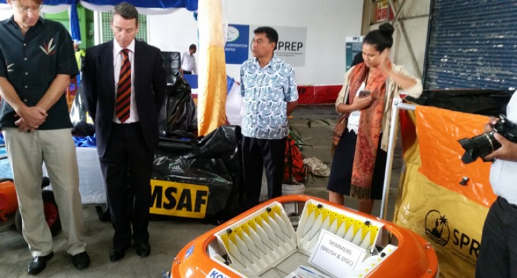 Handover Of Oil Spill Response Equipment
