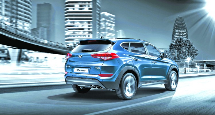 JD Power 2016 Appeal Award For Hyundai Tucson
