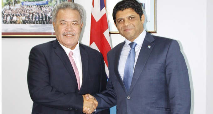 Fiji, Tuvalu set to advance mutual co-operation