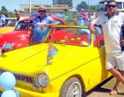Classic Cars, Bikes Rally To Welcome Rugby 7s Gold Winning Team