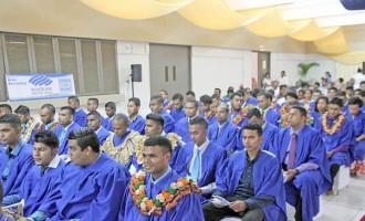 Minister Talks On-The-Job Training