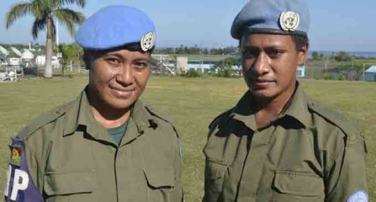 Peacekeeping Ravitaki Lass Steps Up To Peacekeeping