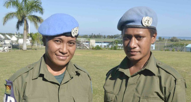 Ravitaki Lass Steps Up To Peacekeeping