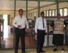 Reddy Hands Over Repaired Navesau Adventist High