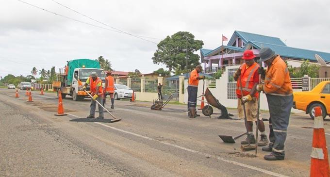 Pothole Repairs Intensify