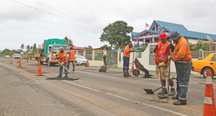 Pothole Repairs Intensify