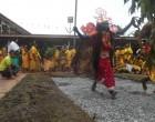 Hindus Celebrate Annual Firewalking Ceremony