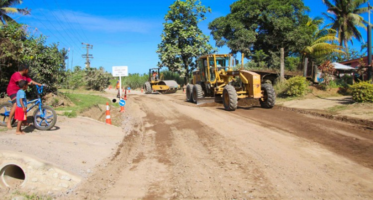 Conditions Improve On Koronivia Road