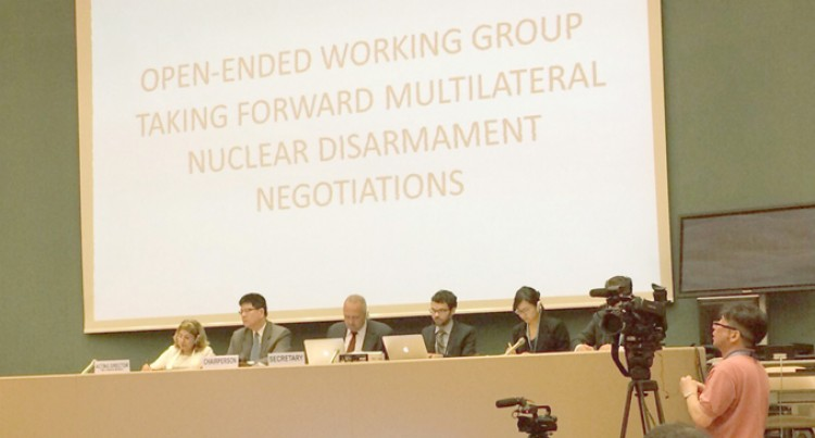 Fiji Backs Treaty For Nuclear Disarmament