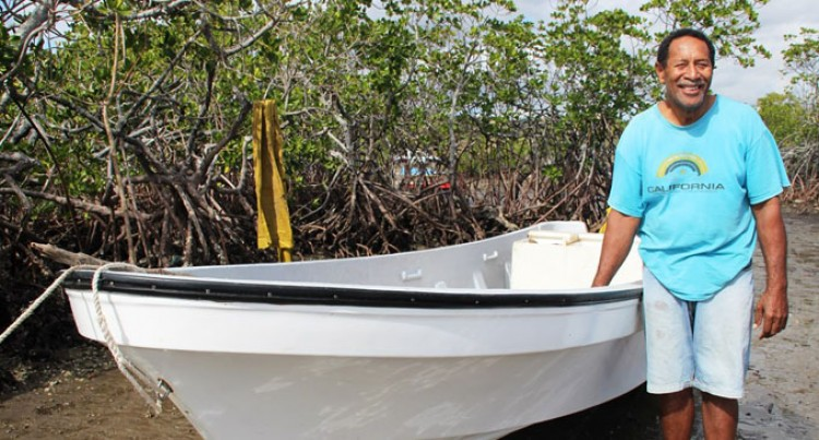 New Boat And Engine To Improve Livelihood