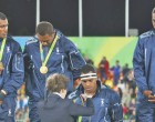 Oceania Celebrates Our Gold Medal Win