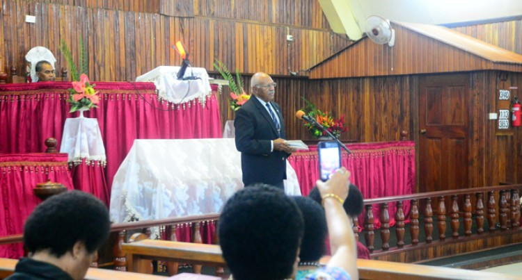 Fight Hard, Smart: Rabuka On Party Move