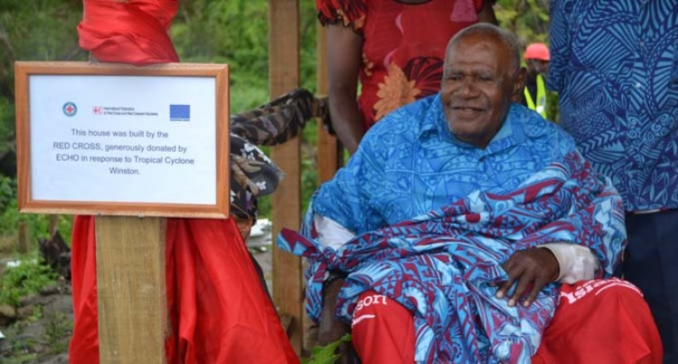 EU, Red Cross Inaugurate First Pilot Shelter