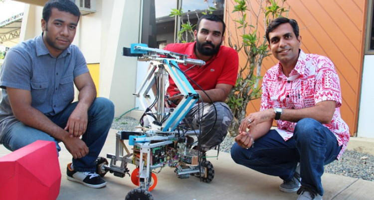 USP Engineers Vie For Robot Contest Title