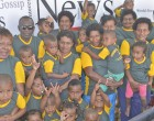 Vunamoli Tots Visit Fiji Sun