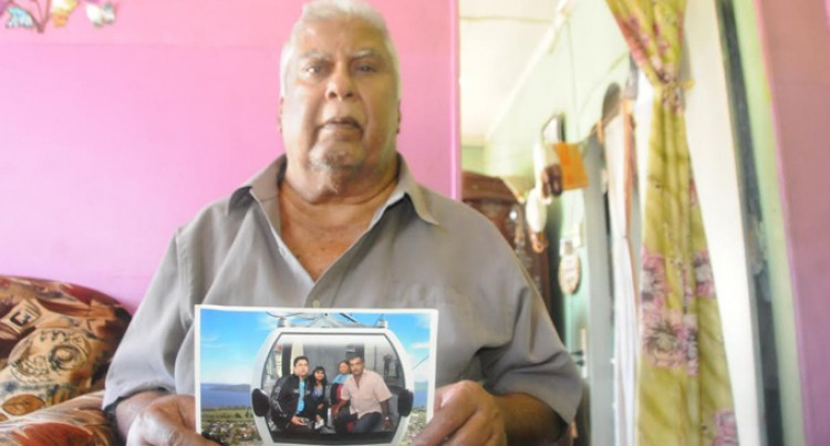 Grieving Father Mourns Son's Death