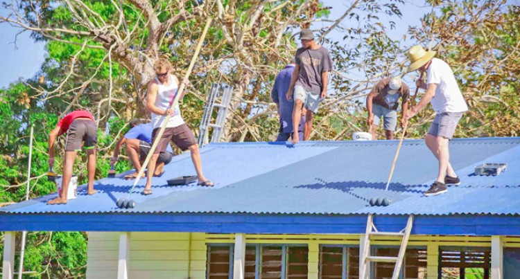 Conua District School benefits From Friends