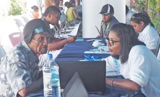 New Voter Service Centre Draws Big Crowd