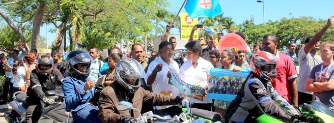 Minister Heads Motor Cyclists Association