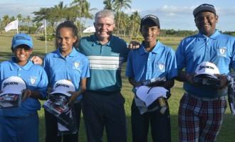 Junior Golfers To Noumea
