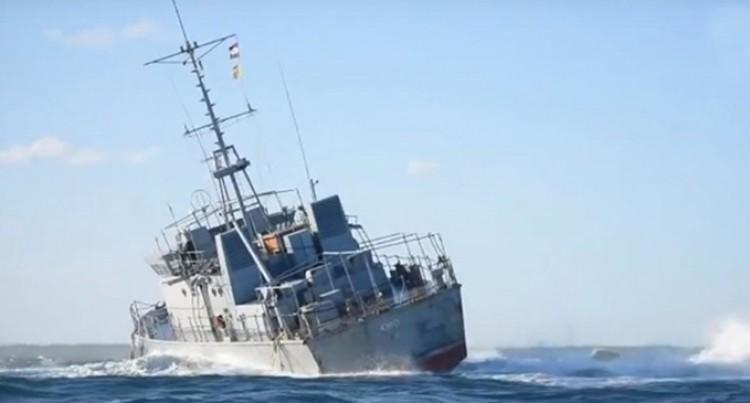 RFNS Lautoka Keeps Close Watch Over The RFNS Kiro