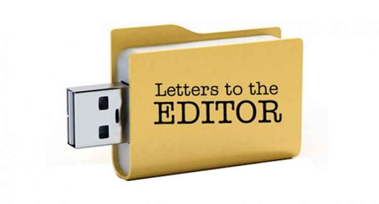 Letters To The Editor, 3rd, September, 2016