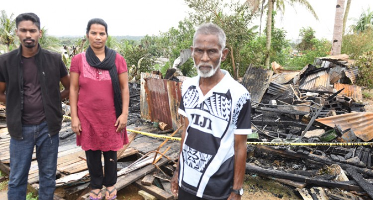 Nausori Fire Claims Man's Life